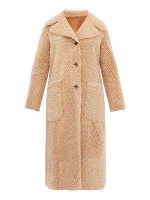 Joseph maybelle reversible shearling coat