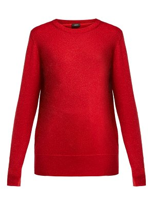 Joseph metallic wool blend sweater