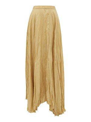 Joseph nanco crinkled silk-habotai maxi skirt