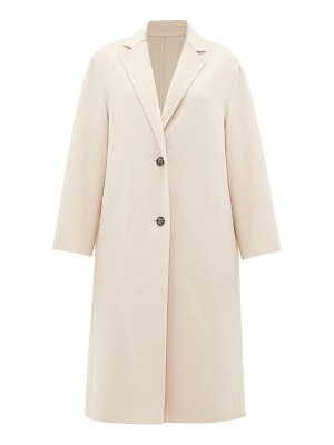 Joseph newman single-breasted wool-blend coat