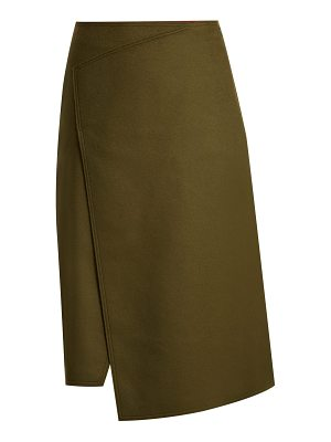 Joseph Page wool and cashmere-blend skirt