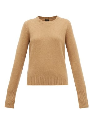 Joseph ribbed-edge cashmere sweater