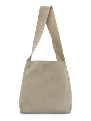 Joseph taupe suede slouch tote