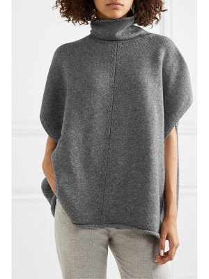 Joseph wool and cashmere-blend turtleneck poncho