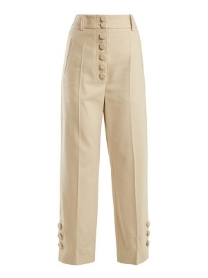 Joseph young felt high waisted trousers