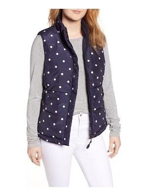Joules holbrook reversible quilted vest