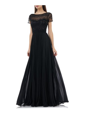 JS Collections beaded ballgown