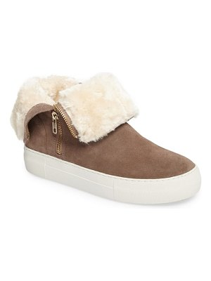 JSLIDES allie faux fur lined platform boot