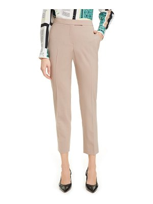 Judith & Charles clive ankle stretch wool trousers