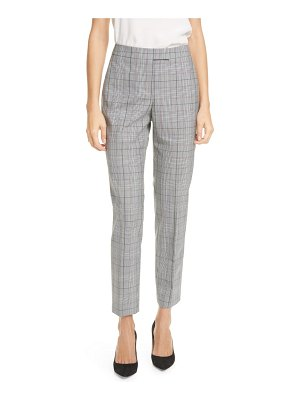 Judith & Charles clive windowpane plaid trousers