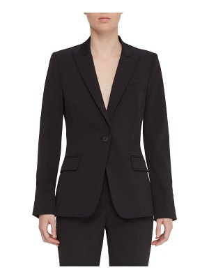 Judith & Charles Expressionist One-Button Easy Care Jacket