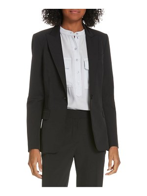 Judith & Charles expressionist suit jacket