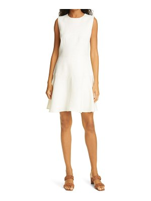 Judith & Charles mimosa fit & flare dress