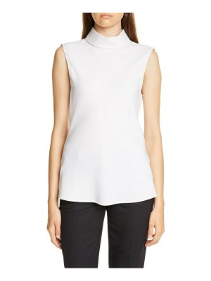 Judith & Charles tropea sleeveless stretch silk top