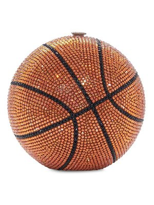 Judith Leiber Couture basketball crystal clutch