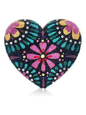 Judith Leiber Couture Corazon Crystal Clutch Minaudiere