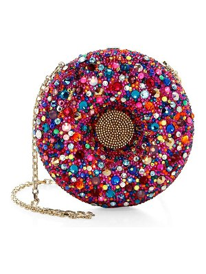 Judith Leiber Couture donut crystal clutch