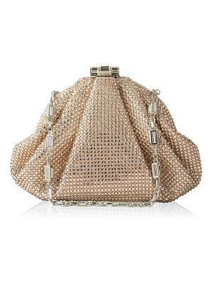 Judith Leiber Couture enchanted crystal & satin clutch