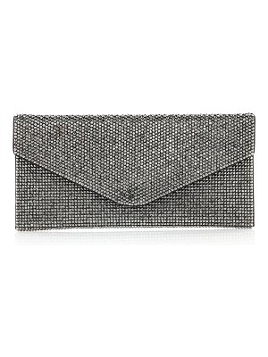 Judith Leiber Couture Envelope Beaded Clutch Bag