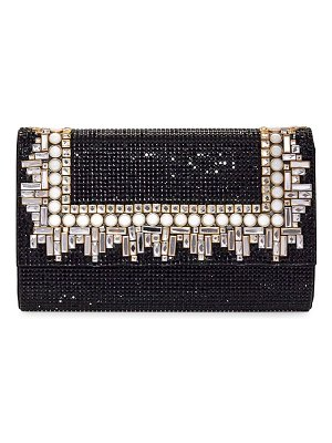 Judith Leiber Couture fizzoni art deco crystal clutch