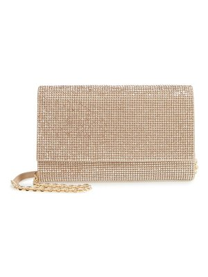 Judith Leiber couture fizzoni beaded clutch