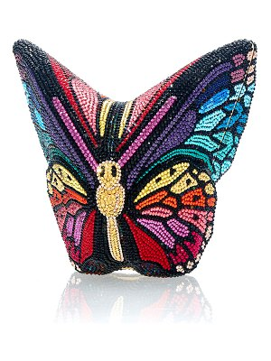 Judith Leiber Couture Mariposa Crystal Butterfly Clutch Bag