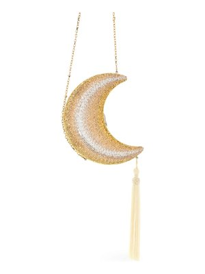 Judith Leiber Couture moonlight crescent moon crystal clutch