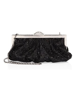 Judith Leiber Couture natalie crystal frame clutch