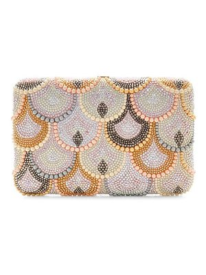 Judith Leiber Couture seamless scallop crystal clutch