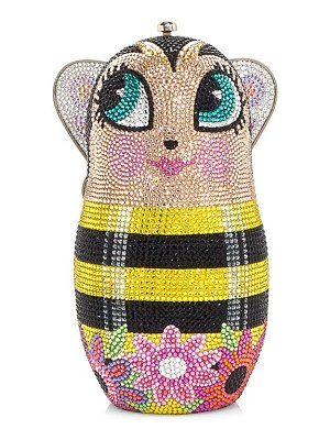 Judith Leiber Couture russian doll crystal clutch