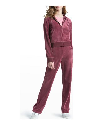 Juicy Couture Classic Velour Track Hoodie