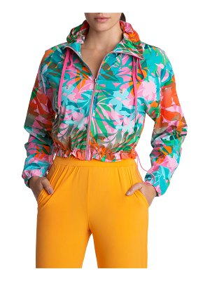 Juicy Couture Cropped Lightweight Zip-Up Jacket