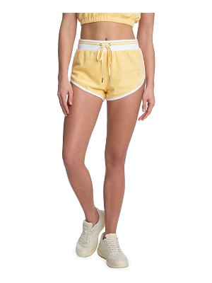 Juicy Couture Drawstring Shorts with Piping