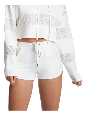 Juicy Couture Mesh Panel Shorts