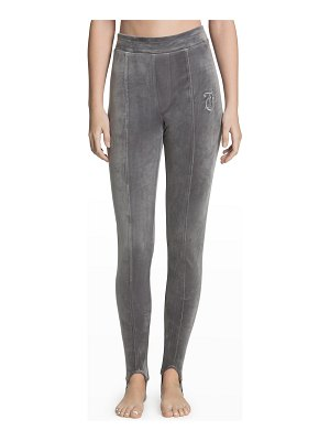 Juicy Couture Pintuck Velour Stirrup Pants