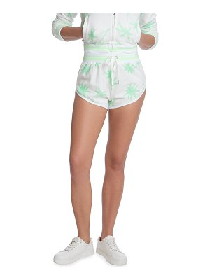 Juicy Couture Printed Shorts with Piping