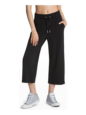 Juicy Couture Wide-Leg Cropped Sweatpants