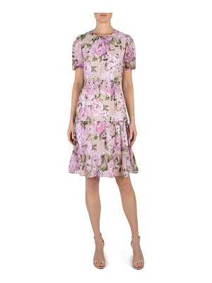 Julia Jordan floral print fit & flare dress