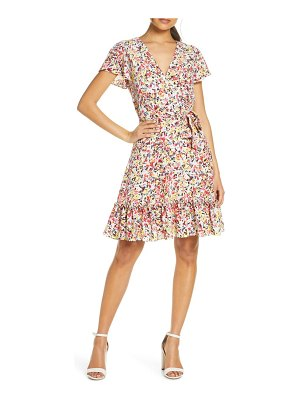 Julia Jordan floral wrap dress