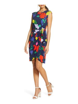 Julia Jordan floral wrap skirt dress