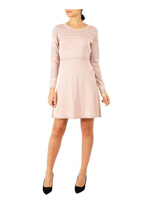 Julia Jordan long sleeve sweater dress