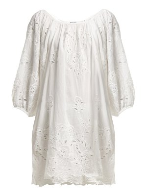 Juliet Dunn broderie anglaise cotton dress