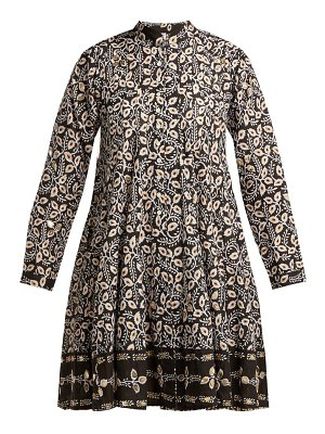 Juliet Dunn leaf print cotton jacket