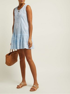 Juliet Dunn sleeveless cotton dress