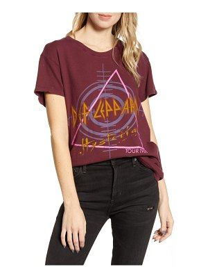 Junk Food def leppard hysteria cotton tee