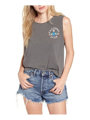 Junk Food grateful dead hieroglyphic sleeveless cotton tee