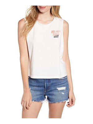 Junk Food own your magic sleeveless cotton tee