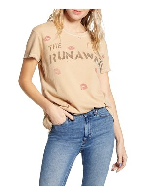 Junk Food runaways live in japan graphic tee