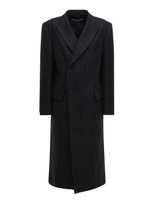 Junya Watanabe Double breasted wool coat