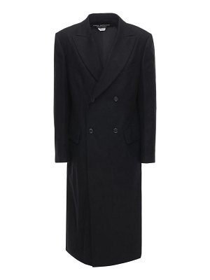 Junya Watanabe Serge double breasted wool coat